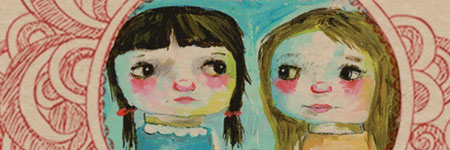 Larkin Poe cover illustration